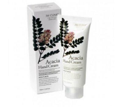Увлажняющий крем для рук с экстрактом акации Acacia Hand Cream 3W CLINIC, 100 мл