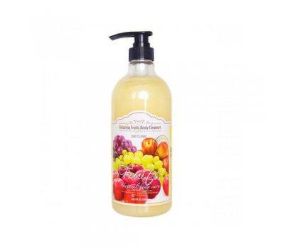 Relaxing Body Cleanser 3W CLINIC Гель для душа расслабляющий с ароматом Фруктов, 1000 мл