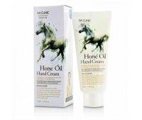 Крем для рук с лошадиным маслом Horse Oil Hand Cream 3W CLINIC, 100 мл