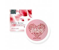 Гидрогелевые патчи для глаз Pink Rose Vitamin Hydrogel Eye Patch 3W CLINIC