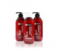 Набор для ухода за волосами Red Ginseng Shampoo Aging Treatment 3W CLINIC, 3*500 мл.