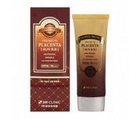 Солнцезащитный ВВ крем с плацентой Premium Placenta Sun BB Cream 3W CLINIC, 70 мл