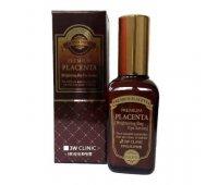 Сыворотка для век с плацентой Premium Placenta Brightening Day Eye Serum 3W CLINIC, 50 мл