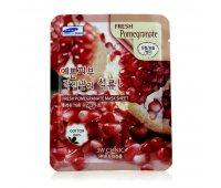 Маска для лица с экстрактом граната Fresh Pomegranate Mask Sheet 3W CLINIC