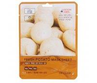 Маска для лица с экстрактом картофеля Fresh Potato Jelly Mask Sheet 3W CLINIC