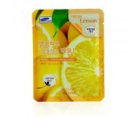 Маска для лица с экстрактом лимона Fresh Lemon Mask Sheet 3W CLINIC