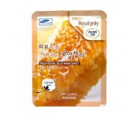 Маска для лица с маточным молочком Fresh Royal Jelly Mask Sheet 3W CLINIC