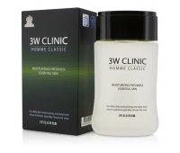 Тоник для мужчин Homme Classic Moisturizing Freshness Essential Skin 3W CLINIC, 150 мл