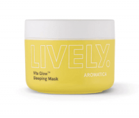 Маска для лица витаминная LIVELY Vita Glow™ Sleeping Mask Aromatica