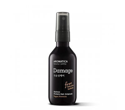 Aromatica Quinoa Protein Hair Ampoule Сыворотка для сухих и поврежденных волос с киноа, 100 мл