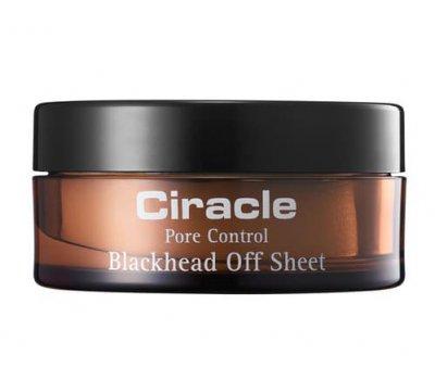 Салфетки для лица от черных точек Ciracle Pore Control Blackhead Off Sheet, 30 шт