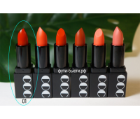 Матовая губная помада Momo First Chu Semi Matt LipStick (3,5 гр) 1 тон, CORINGCO