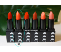 Матовая губная помада Momo First Chu Semi Matt LipStick (3,5 гр) 3 тон, CORINGCO