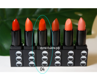 Матовая губная помада Momo First Chu Semi Matt LipStick (3,5 гр) 4 тон, CORINGCO