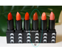 Матовая губная помада Momo First Chu Semi Matt LipStick (3,5 гр) 2 тон, CORINGCO