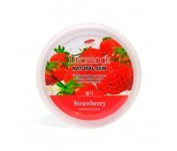 Крем для лица и тела с экстрактом клубники Natural Skin Strawberry Nourishing Cream Deoproce, 100 мл