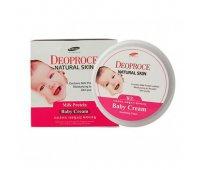 Питательных детский крем на молочных белках Deoproce Natural Skin Baby Cream, 100 мл