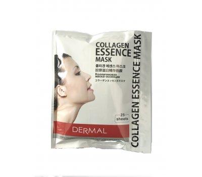 Тканевая маска dermal collagen mask с коллагеном и гиалуроновой кислотой, 25 шт.