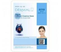 Тканевая маска для лица DERMAL Aqua Collagen Essence Mask, 23 гр