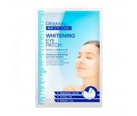 Осветляющие патчи для век DERMAL Whitening Eye Patch, 6 гр