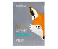 Тканевая маска для лица Лиса Dermal Fox Animal Aqua Relax Mask