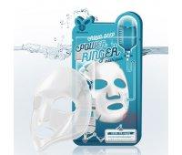 Тканевая маска для лица Увлажняющая Aqua Deep Power Ringer Mask Pack Elizavecca