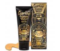 Маска-пленка для лица с золотом Hell-Pore longolongo Gronique Gold Mask Pack Elizavecca, 100 мл