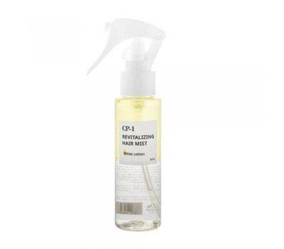 CP-1 Revitalizing Hair Mist White Cotton ESTHETIC HOUSE Парфюмированный спрей для волос, 80 мл