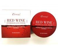Гидрогелевые патчи для глаз с экстрактом Красного Вина Red Wine Hydrogel Eye Patch, ESTHETIC HOUSE