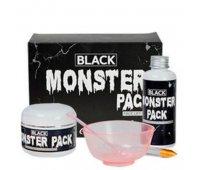 """Набор для приготовления очищающей маски """"BLACK MONSTER PACK"""" ESTHETIC HOUSE"""