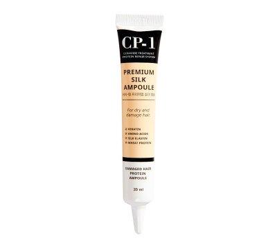 Сыворотка для волос с протеинами шелка CP-1 Premium Silk Ampoule ESTHETIC HOUSE, 20 мл