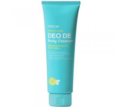 Evas Pedison Deo De Body Cleanser Гель для душа с освежающим ароматом лимона, зеленого чая и мяты, 100 мл