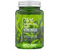 Сыворотка с семенами зеленого чая Farm Stay 76 Green Tea Seed All-in-One Ampoule, 250 мл