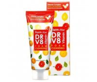 Пенка для умывания с витаминным комплексом Farm Stay DR-V8 Vitamin Foam Cleansing, 100 мл