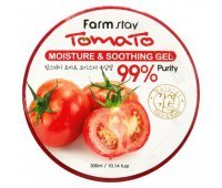 Многофункциональный гель с экстрактом томата Farm Stay Tomato Moisture Soothing Gel, 300 мл