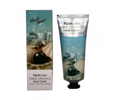 Farm Stay Visible Difference Hand Cream Black Pearl Крем для рук с черным жемчугом, 100 мл