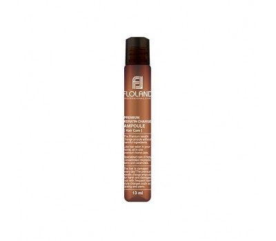 Ампула для восстановления поврежденных волос Floland Premium Keratin Change Ampoule, 13 мл