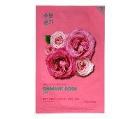 "Увлажняющая тканевая маска ""Pure Essence"", дамасская роза, Pure Essence Mask Sheet Damask Rose 20 мл, Holika Holika"