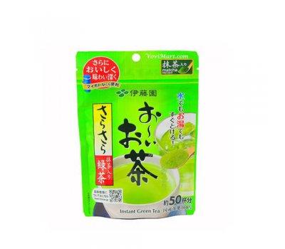 Растворимый зеленый чай с добавлением Матча Instant Green Tea With Matcha ITOEN, 40 гр