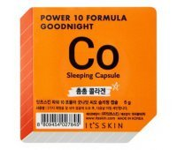 "Ночная маска-капсула ""Power 10 Formula Goodnight Sleeping Capsule CO"" коллагеновая 5 г, It's Skin"