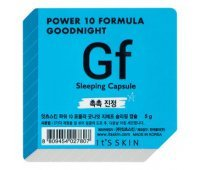 "Ночная маска-капсула ""Power 10 Formula Goodnight Sleeping Capsule GF"" увлажняющая 5 г, It's Skin"