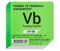 "Ночная маска-капсула ""Power 10 Formula Goodnight Sleeping Capsule VB""  для проблемной кожи 5 г, It's Skin"