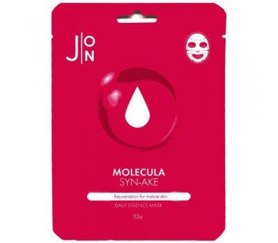 Тканевая маска для лица на основе змеиного пептида Molecula SYN-AKE Daily Essence Mask J:ON, 23 мл