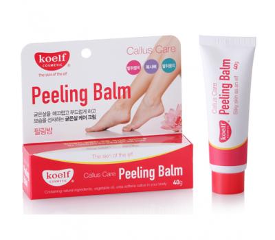 Крем-пилинг для ног от натоптышей и мозолей Callus Care Peeling Balm KOELF, 40 гр