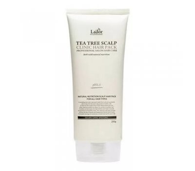 Маска для лечения кожи головы Tea Tree Scalp Hair Pack Lador, 200 мл