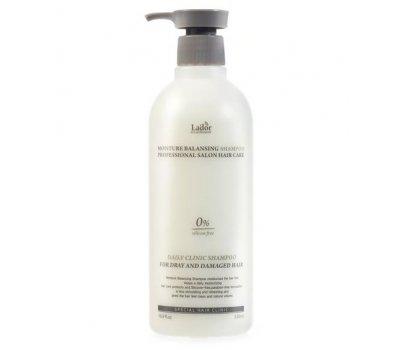 Увлажняющий шампунь для волос Moisture Balancing Shampoo Lador, 530 мл