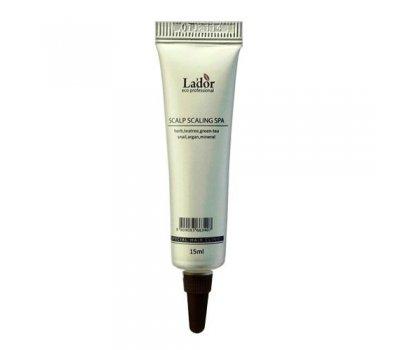 Упаковка пиллинга для кожи головы Scalp Scaling Spa Ampoule Lador, 15 мл*20 шт