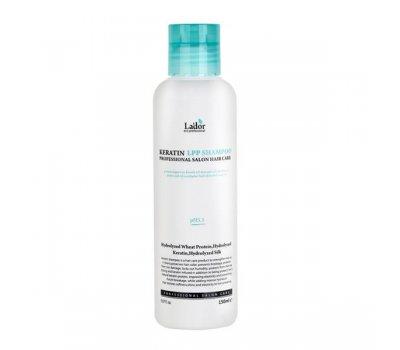 Безсульфатный протеиновый шампунь для волос с кератином Keratin lpp Shampoo Lador, 150 мл