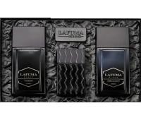 Мужской набор косметики Lafuma Black - тонер, эмульсия, туалетная вода