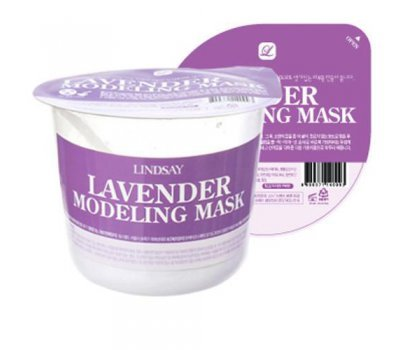 Альгинатная маска с лавандой Lavander Disposable Modeling Mask Cup Pack 28 гр, Lindsay